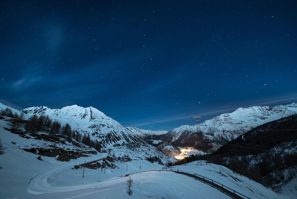 Visuale Aerea di La Thuile (Hotel Planibel, Valle d'Aosta)