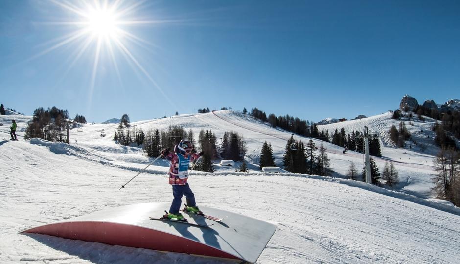 Alta Badia attivita' sulla neve
