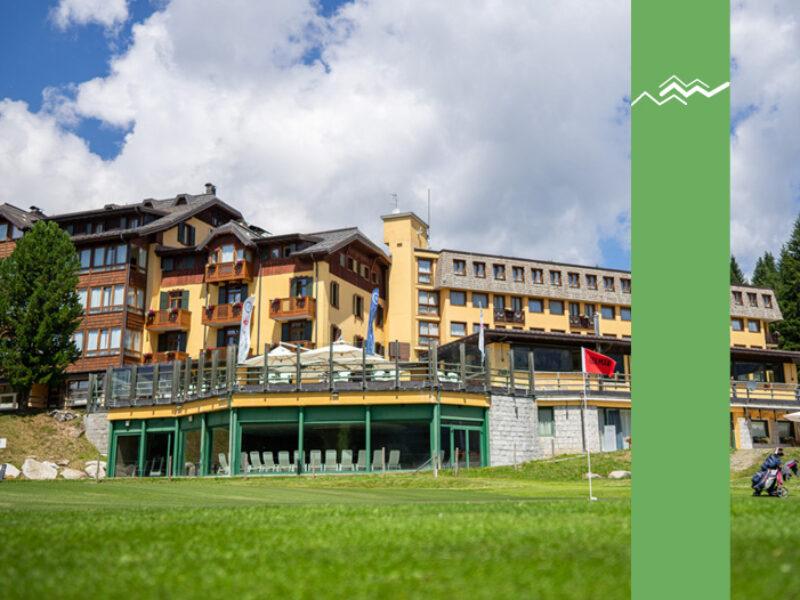Madonna di Campiglio Golf Hotel Estate Montagna