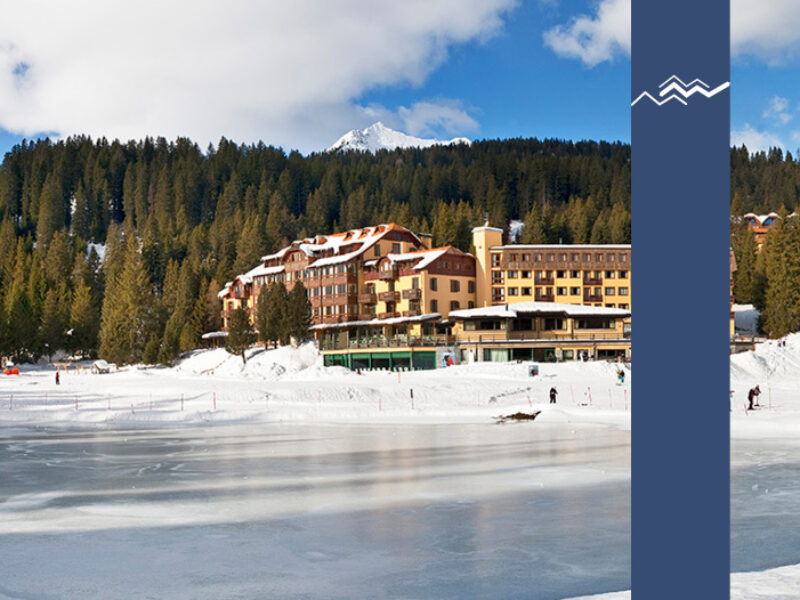 Campiglio Golf Hotel Inverno Neve