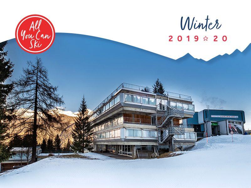 Marilleva 1400 all you can ski inverno offerta