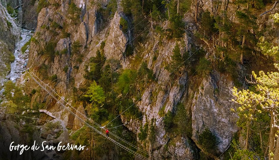 Gorge San Gervasio Sestriere