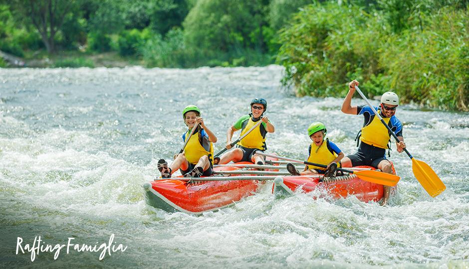 Rafting Sport Sestriere Famiglia
