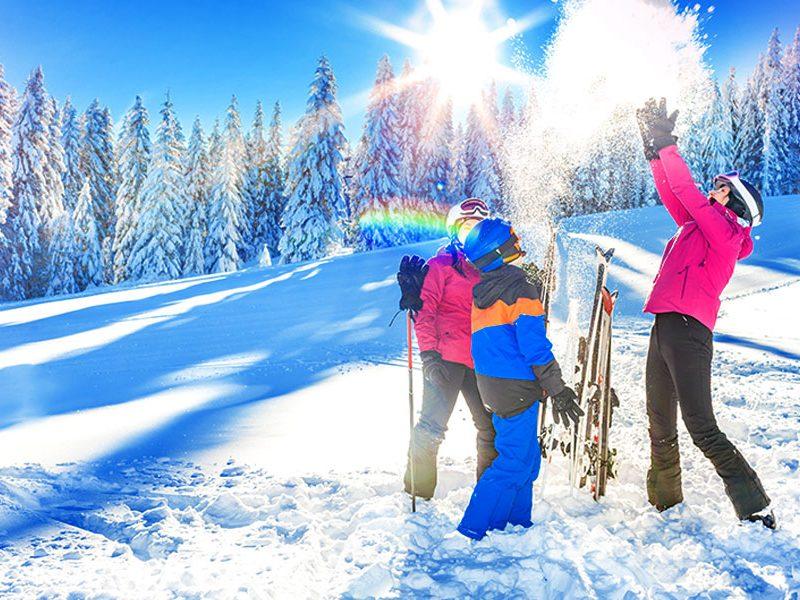 Vacanze Famiglia Neve Inverno